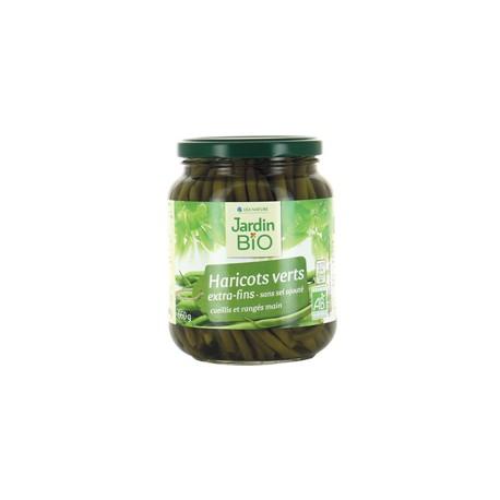 Haricots verts fins BIO 330g