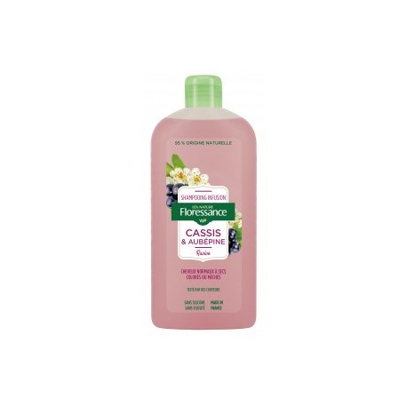 Shampooing Infusion Cassis et Aubépine   250ml