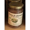 Crème de châtaignes (le pot de 360g)